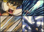 Pegasus ryu sei ken seiya v1,2