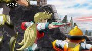 Emma vs Soldados de Saturn