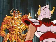 Aldebarán y Seiya