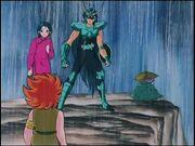 Shunrey, Dohko, Shiryu y Kiki