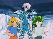 Hyoga, Cristal e Isack 2