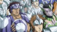 Saints XVIII invasión al castillo anime3
