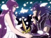 Athena y Saga