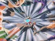 Seiya battant les hommes de Shaina