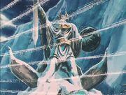 Odin estatua anime