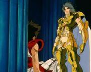 Saga vs Seiya