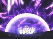 Barrera Defensiva a Seika