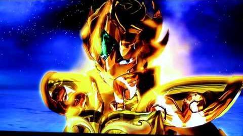 Saint Seiya Senki PS3 Leo Aioria - Lightning Plasma 1080p