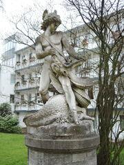 Estatua Bremen Siegfried