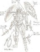 Diseño Ganador Dohko de Libra CGI