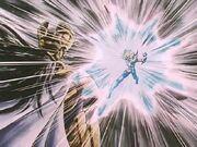 Hyoga vs Saga