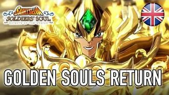 Saint Seiya Soldiers' Souls - PS4 PS3 Steam - Golden Souls Return (Announcement Trailer)