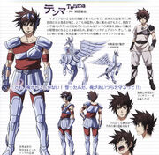 Tenma cloth pegaso