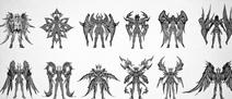 Armures Divine des Chevaliers d'Or (Awakening)