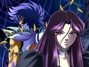 Ikki y Pandora (Megami no Senshi Elysium)