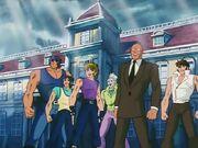 Tatsumi y los Caballeros de Bronce