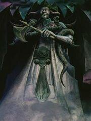Estatua de Satanas