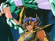 Mascara de Muerte y Shiryu 6
