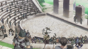 Coliseo del Santuario The Lost Canvas Anime