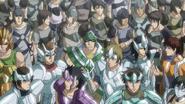 Saints XVIII invasión al castillo anime4