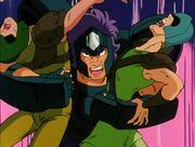 Geki VS soldados