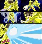 Pegasus ryu sei ken seiya gold v.3