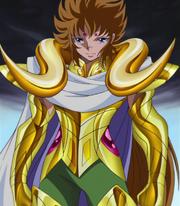 Cloth de Aries portada por Kiki en Omega