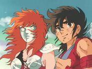 Marin y Seiya 2