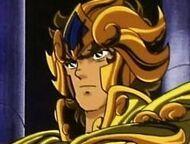 Gold saint Aioria Leo