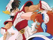 Marin vs Seiya