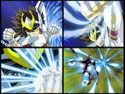 Pegasus ryu sei ken seiya v3