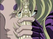 Shion con la Armadura de Atenea