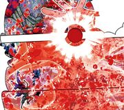 Gladiator (anonimo) - ataque con sangre