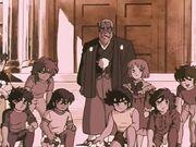 Caballeros de Bronce, Athena y Mitsumasa Kido