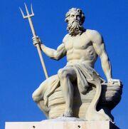 Poseidón Estatua