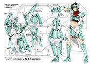 Cassiopeia Cloth I