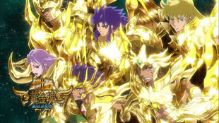 Gold Saints God Cloths - 01
