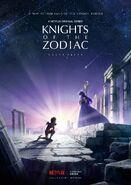 Primer Poster de Knights of the Zodiac - Saint Seiya