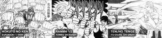 Karate hyakuken manga characters