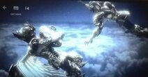 KotZ Netflix, Capircorn Shura attack Sagittarius Aiolos