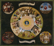 Hieronymus Bosch The Seven Deadly Sins and the Four Last Things