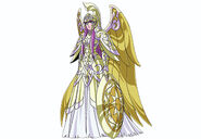 Saori with Athena Cloth