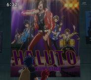 Haluto's Live Poster