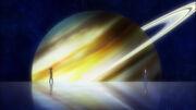Planeta Saturno Omega