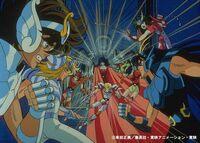Poster retro con Colores dif. de la pelicual de Abel y su tropa