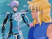 Cristal y Hyoga 4
