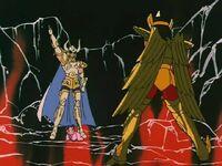 Shura vs Aioros