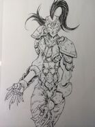 Ichi de l'Hydre Femelle by Megumu Okada G style