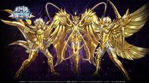 Armure Divine du Lion, Bélier et Sagittaire (Online)