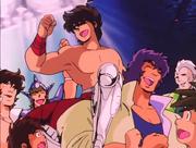 Ban, Jabu, Seiya, Geki y Ichi